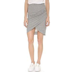 Alice + Olivia Air Armida Faux Wrap Skirt